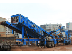 Mobile Crushers for constructio